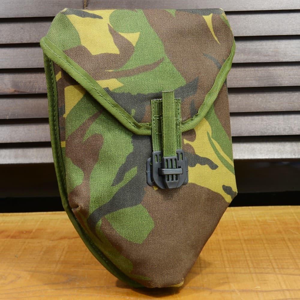 オランダ軍放出品 三つ折り用 スコップカバー DPMカモ