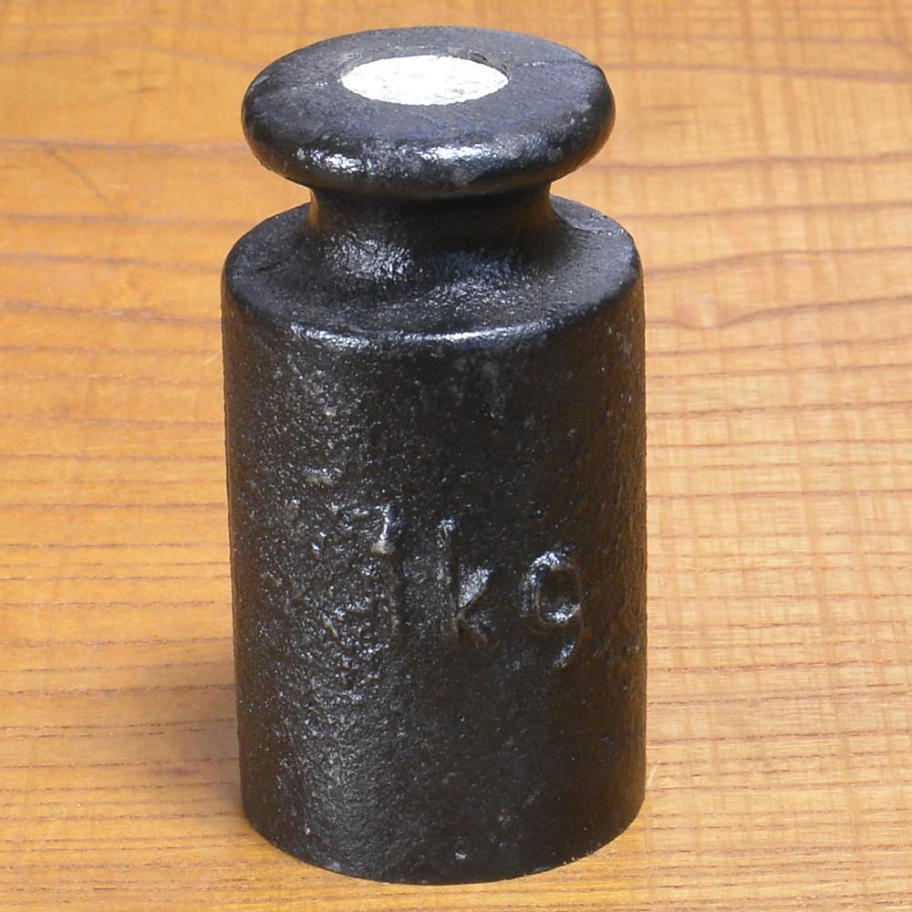 ドイツ軍放出品 分銅 天秤ばかり用 1kg