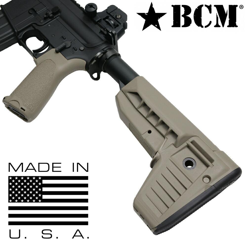 BCM ガンファイターストック Mod.1 SOPMOD 収納スペース付き M4/AR15他対応