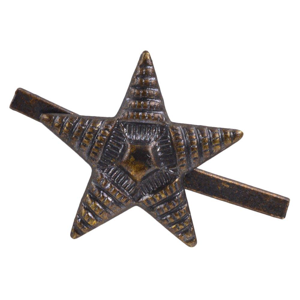 チェコ軍放出品 星形 スタッズ 横縞タイプ