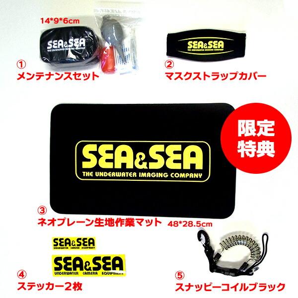 先着プレゼント!SEA&SEAアイテム!
