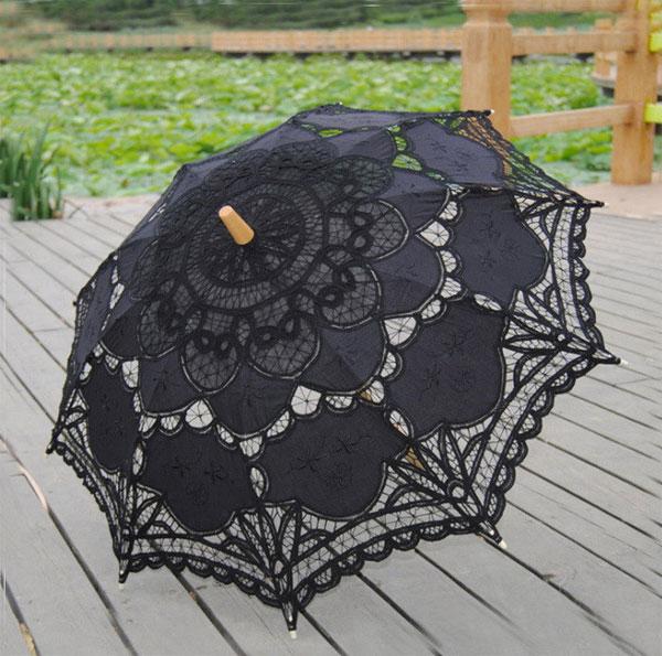 レース 日傘