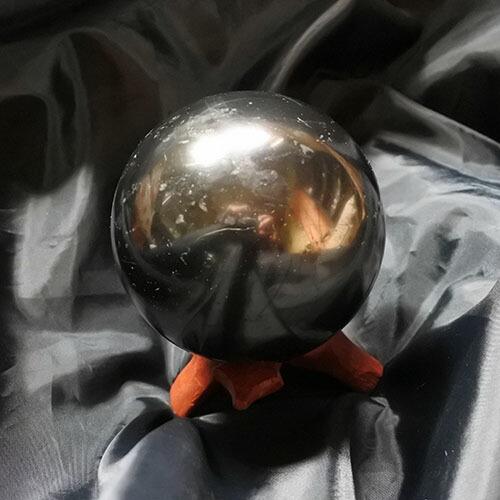 シュンガイト球 スフィア 径84ミリ