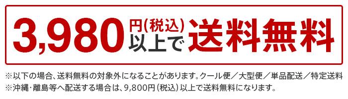 3,980円(税込)以上で送料無料