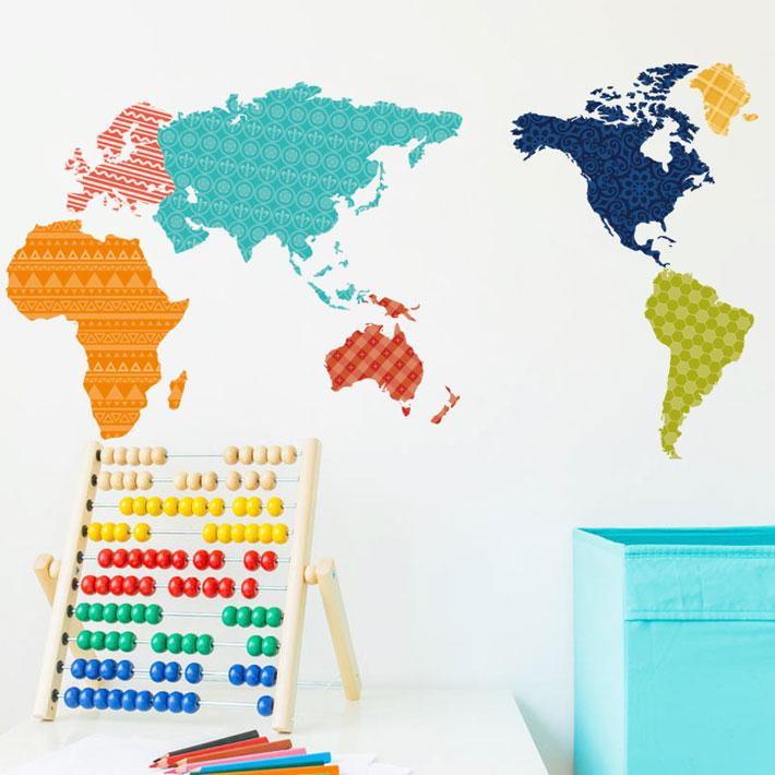 子供部屋の壁を北欧風にアレンジするデコレーショングッズを教えて。