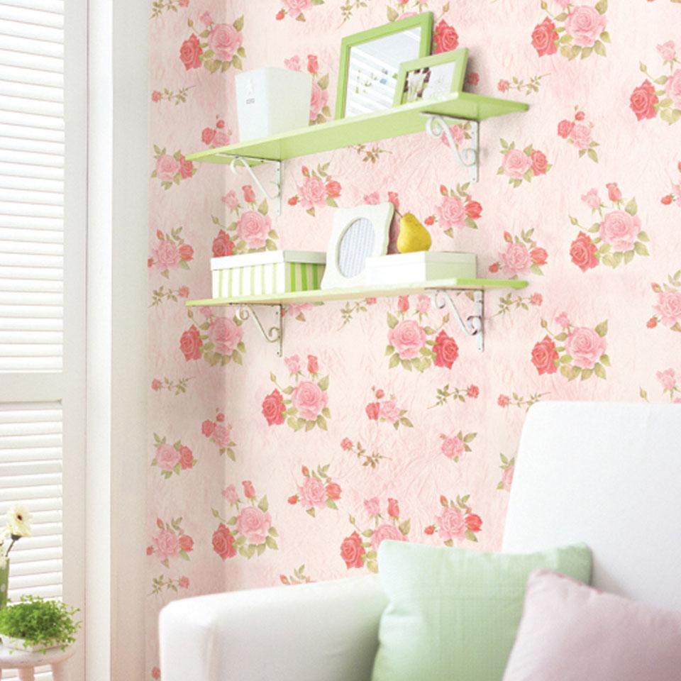 楽天市場 壁紙 シール 花柄 花柄 ピンクの貼ってはがせる壁紙シール お試し壁紙サンプル 花柄 ピンク のり付き 壁用 リメイクシート ウォールステッカー アクセントクロス カッティングシート Diy リフォーム 輸入壁紙 おしゃれ Y3 Diyリフォームショップ