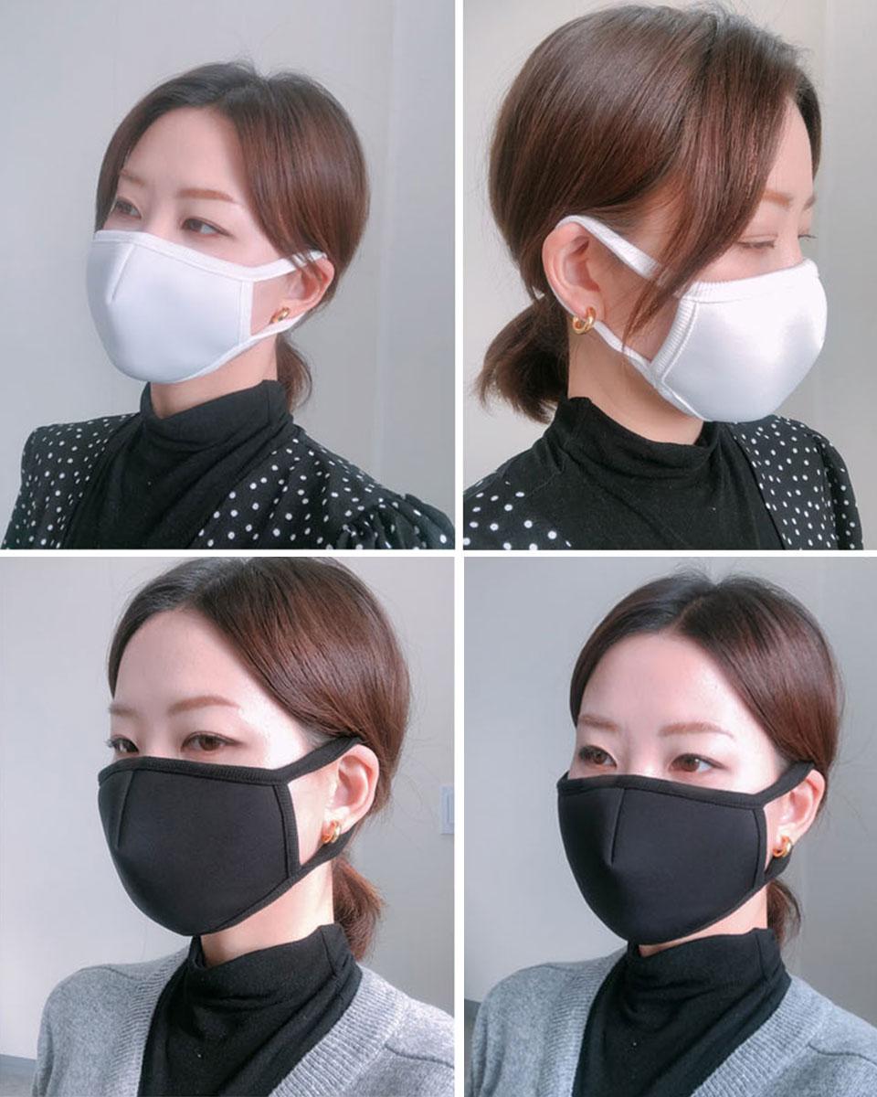 マスク 洗える 抗菌 立体 大人 子供 布マスク