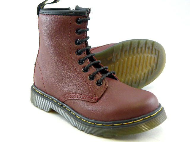 JUNIOR LACE BOOT 15382601 CHERRY RED
