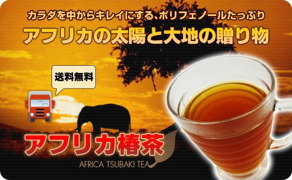 【送料無料】アフリカの太陽と大地の贈り物。アフリカ椿茶。悪玉コレステロールを阻害、ダイエット効果アリ。