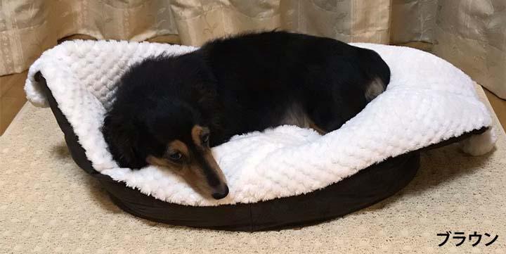ペットベッド犬用ベッドもこもこモコモコパピードリームボートベッドSサイズ(株)サンメイト