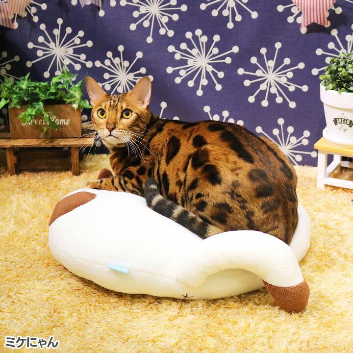 クッション猫犬ペット用品ネコケツくっしょんドギーマンハヤシ