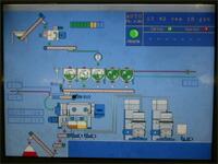 工場内はコンピュータ管理。
