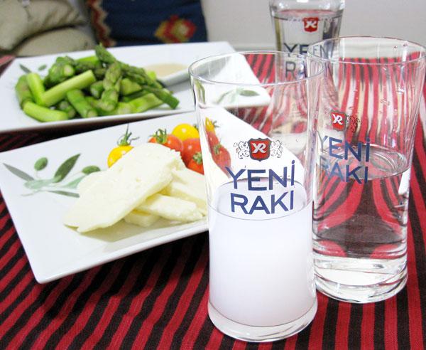 トルコのお酒「RAKI(ラク)」