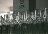 オリーブオイルの瓶。