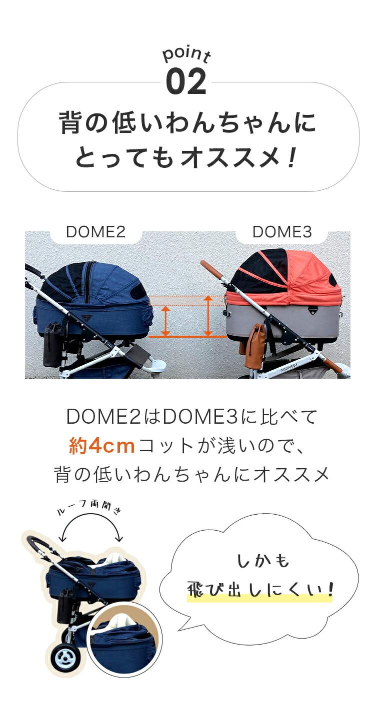 エアバギー ドーム2 コット SM 単品 アースカラー