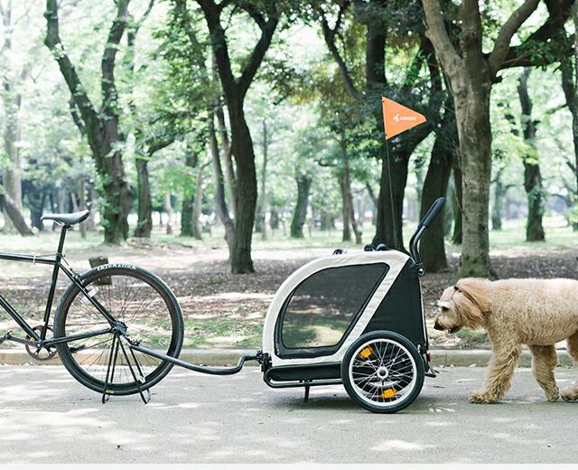 自転車で一緒におでかけ