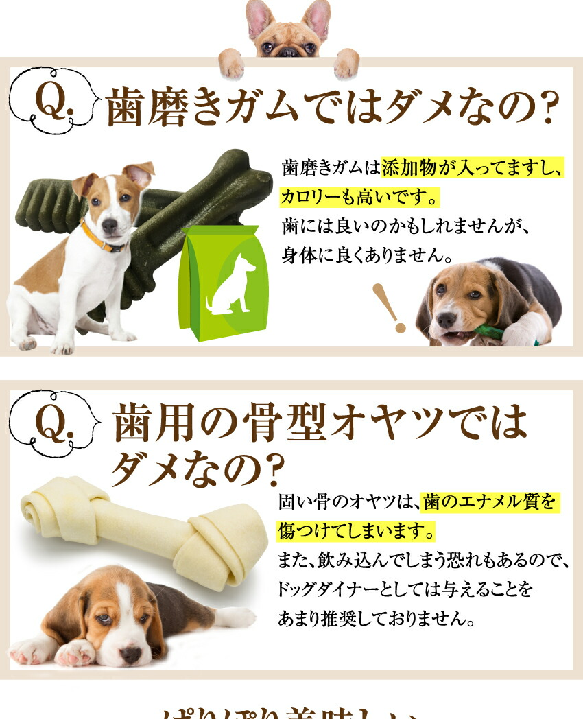 犬・無添加・国産 おやつ(歯に良いせんべい)