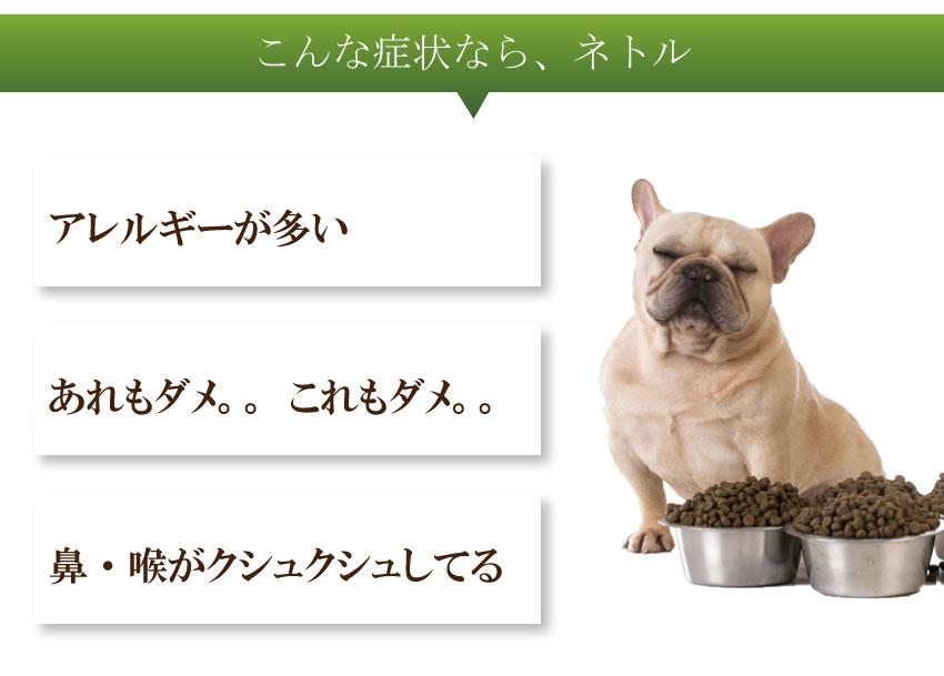 犬・猫・無添加・有機・ハーブ・ネトル