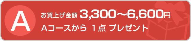 Aお買い上げ金額3,240~6,480円