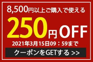 限定クーポン250円引き