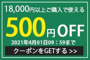 限定クーポン500円引き