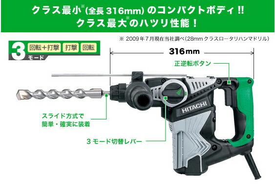 ロータリハンマドリル【DH28PC】