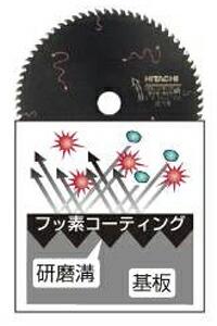 【日立】マルノコ用スーパーチップソー(ブラック)