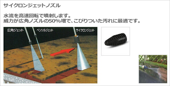 【ケルヒャー】サイクロンジェットノズル《4.763-253.0》