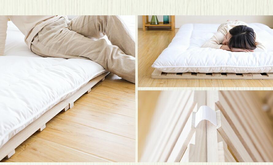 すのこベッド すのこで快適な睡眠生活