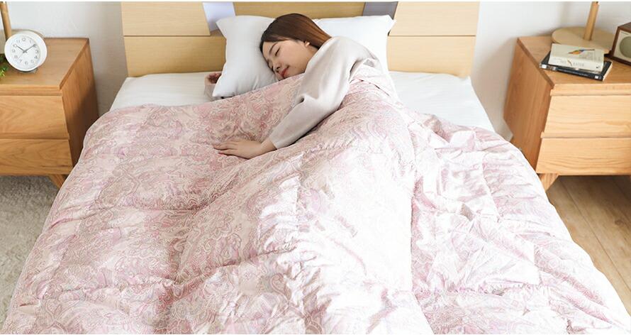 ダウンケット 心地の良い寝心地