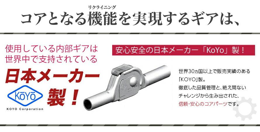 日本メーカー製ギア