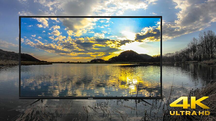 楽天市場 予約 テレビ 4k 55型 55インチ 送料無料 tv 液晶テレビ 4k