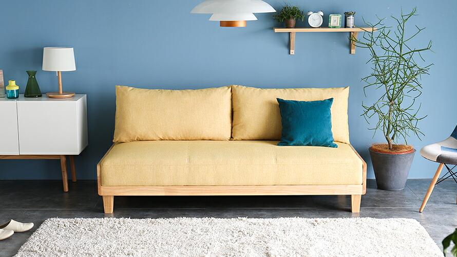 一人暮らし向けのコンパクトでおしゃれなソファベッドを教えてください