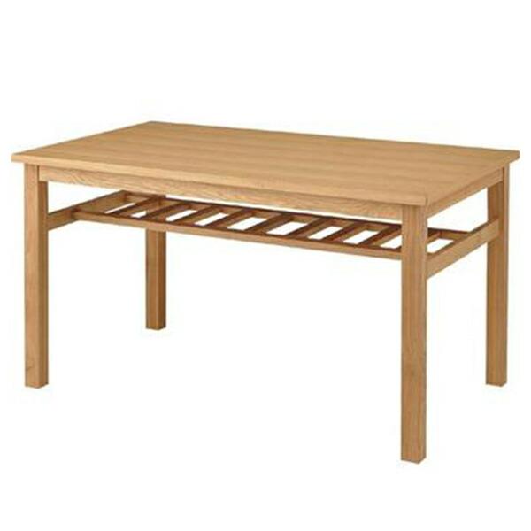 ダイニングテーブル 棚付