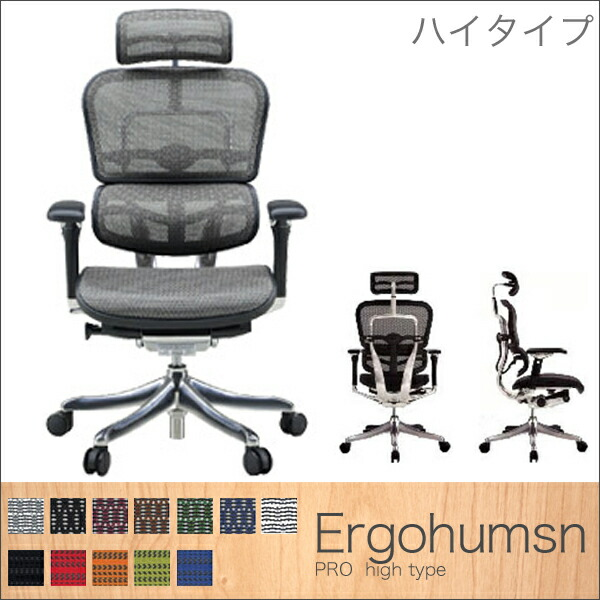 Ergohumsn(エルゴヒューマン) PRO ハイタイプ