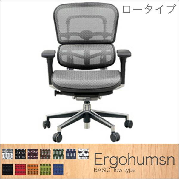 Ergohumsn(エルゴヒューマン) Basic ロータイプ