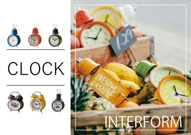 INTERFORM /置時計