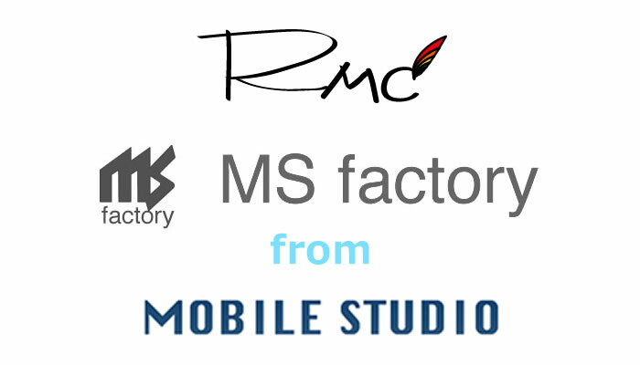 MOBILE STUDIO MS factory RMC