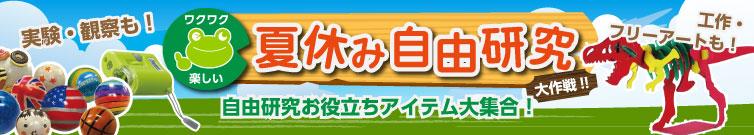 夏休み自由研究大作戦