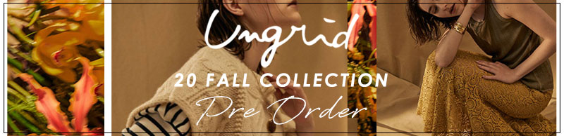 Ungrid 20SS Collection