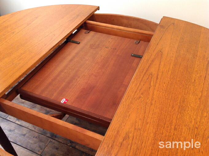 G-PLAN ROUND EXTENSION TABLE ジープランラウンドエクステンションテーブル
