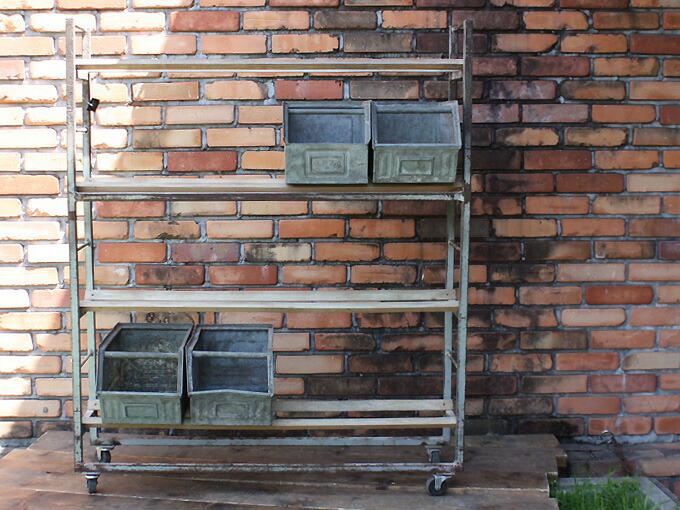 Factory Iron Shelf ファクトリーアイアンシェルフ 2602-B054
