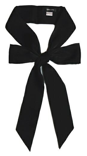 リボンタイ スカーフ 黒