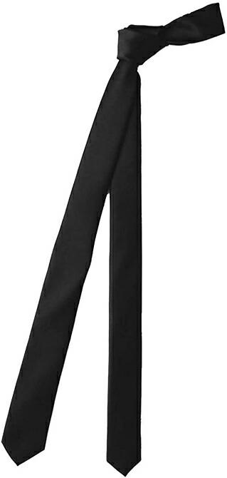 ナロータイ ネクタイ 黒 ブラック ネクタイ メンズ
