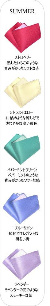 【ポケットチーフ】ピンドット