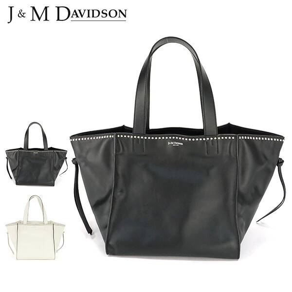 J&M DAVIDSON 『BELLE S WITH STUDS』 トートバッグ