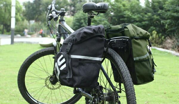 リアサイドバッグ 自転車