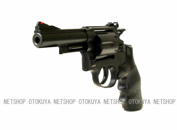 クラウンモデル エアガン リボルバー S&W M19 357コンバットマグナム 4インチ