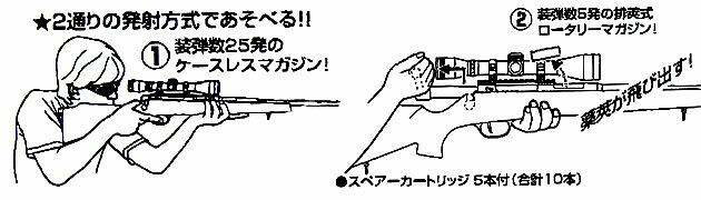クラウン スーパー ライフル U10 ジュニア スコープ ブラック
