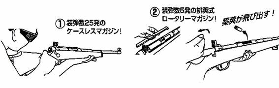 クラウン スーパー ライフル U10 シニア ボルトアクション